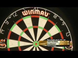 Remco van Eijden vs Glen Durrant (Winmau World Masters 2013 / Last 16)