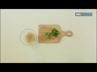 Свежая еда - Цыпленок на гриле с соусом из грецких орехов