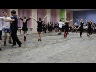 Дуба-танець (Відкритий урок, Барвіночок, 12,02,2014)