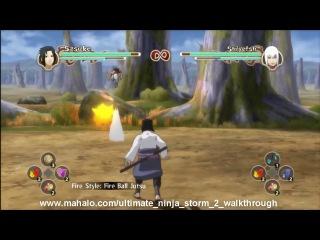 Naruto Shippuuden Ultimate Ninja Storm 2 Walkthrough - Chapter 4: Hebi Formation Part 2 - ...