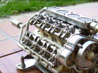 Contruccion de un motro semiestrella corazon 45º. Castellano Salchi.