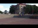 Гонки радиоуправляемых машин на Площади Победы в Раменском