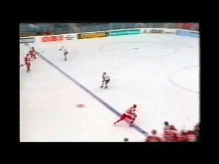 Чемпионат мира по хоккею 1990, Швейцария, групповой этап, СССР-Норвегия, 9-1, 1 место, Быков Вячеслав