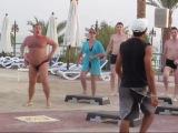 Утро в Египте, мужик зарядил позитивом на весь отдых!