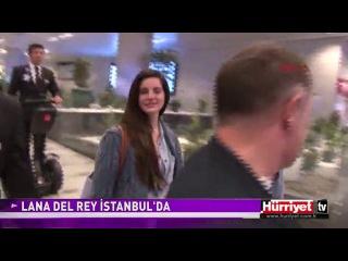 19 сентября 2013; Стамбул, Турция: Лана приземлилась в аэропорту города
