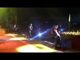 Rammstein - Sonne , Рок над Волгой 2013,  хоть как то я запечатлена на одном видео с Тилем)))) (наше крыло попало в камеру)