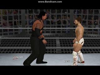 WWE 13 Elmination chamber Daniel,Randy,Triple,Kevin,Stone and Rock part 2