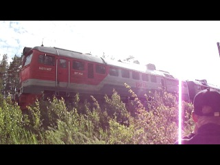 2М62 резервом Перегон Хвойная-Песь