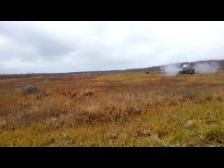 бмп2 стрельба из пушки 2А42 (30мм)