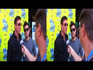 Зак и Деннис Куэйд на кинофестивале SXSW 3D (16.03.2013)