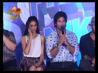 Shahid Kapoor & Illeana D'Cruz at Poster launch of 'Phata Poster Nikhla Hero' Part 1