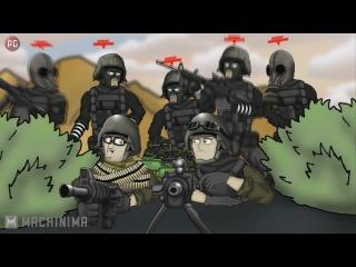 (PG) Друзья по Battlefield – Кемперы 2 сезон 3 серия(Рус.)