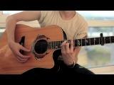 Видео уроки игры на гитаре(acoustic) Нервы: урок 1