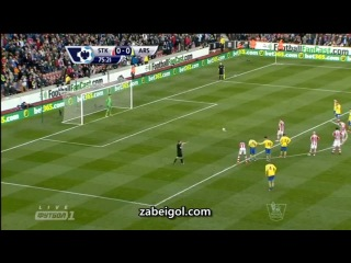 Сток Сити Арсенал 1 0 ✔
