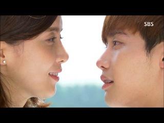 Красивый поцелуй Чжан Хе Сун и Пак Су Ха. Дорама