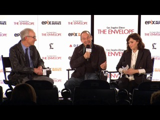 "1частьThe Invisible Woman': Watch cast and crew discuss     Actor and director Ralph Fiennes and actress Felicity Jones discuss the film ""The Invisible Woman"""