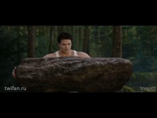 ║• Breaking Dawn   Рассвет (2): Сцена «Самая сильная» (+рус. субтитры)