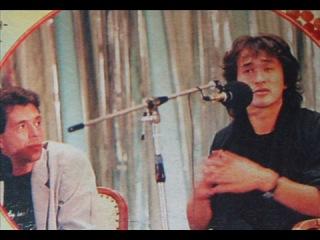В.Цой - Пресс-конференция фильма 'Игла' в Одессе 1988 г.
