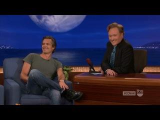 Conan (2012.10.02) — Timothy Olyphant / Тимоти Олифант на шоу Конана (rus sub)