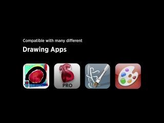 Уникальная кисть для рисования на планшете iPad