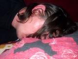 спящий пьяный Миша