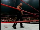 WWE RAW Stone Cold Steve Austin Vs Batista Goldberg Returns Ноябрь 2003