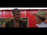 """Дольф Лундгрен. Сцена в супермаркете про предателей  (фильм """"Универсальный солдат"""", 1992 г.)"""