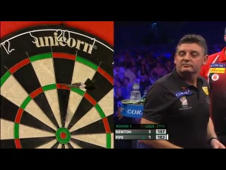 Wes Newton vs Justin Pipe (PDC Coral Masters 2013 / First Round)