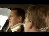 Schumacher and Kimi Raikkonen (Fiat Bravo Commercial)