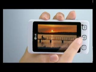 ролик Евросети о мобилке LG Cookie KP500