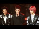 [Fancam] 140116 Infinite Dongwoo, SungGyu & SungJong 2 @ 28th Golden Disk Awards