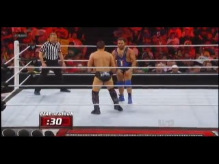 The Miz def. United States Champion Santino Marella in a Non-Title Match – Beat the Clock Challenge