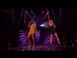 Дуэт Келли Роуленд и Амелии на шоу X Factor (финал). Песня River Deep