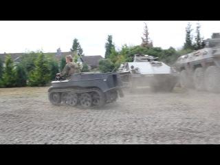 Немцы в городе! 30-тилетие немецкого танкового музея.