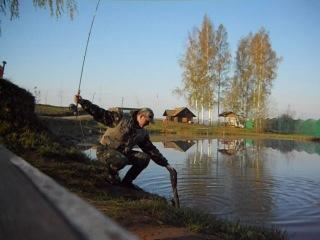 Звенигород рыбалка на форель нахлыстом май 2012