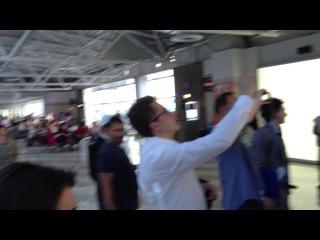 Еврейский танец в Аэропорте имени Ататюрка — Стамбул