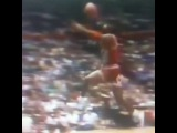 Michael Jordan's Historic Free Throw Line Dunk + Skrillex = Pure Awesomeness