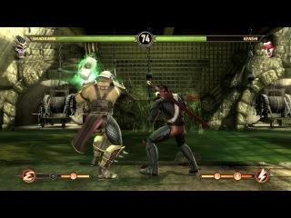 Mortal Kombat 9 PC - Бой за Шао Кана (Shao Kahn)