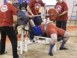Тимур Гадиев - жим 270 кг на чемпионате ПФО 2010