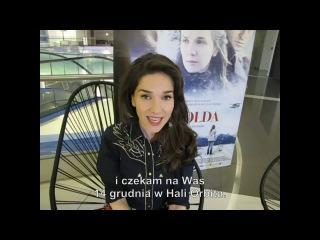 Natalia Oreiro - pozdrowienia dla Polski.
