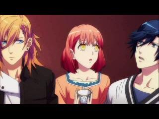 Прикол из аниме Поющие принцы реально 2000% любовь - Признание в любви Сесиля и эффектное появление Камю