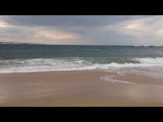 Франция. Океан. Пляж в 100 км от города Бордо.