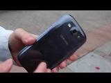 iPhone 5 и Galaxy S3 Дроп тест