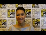 Video A Few Minutes With Glee Co-Star Naya Rivera at the San Diego Comic-Con