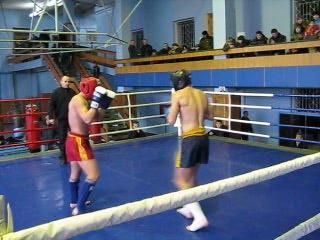Кик-бокс 21.02.09 3 раунд