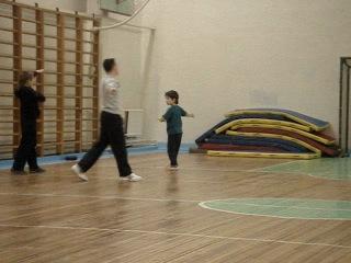 2-й год обучения, февраль 2011 ушу для детей чаньцюань