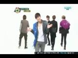 120509 SHINee dancing Replay to Lee Hyori's U Go Girl @ Weekly Idol