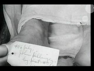 Тело Джона Диллинджера лежит в морге!