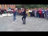 Осетинки танцуют)Лагерь Дзинага,РСО-Алания)