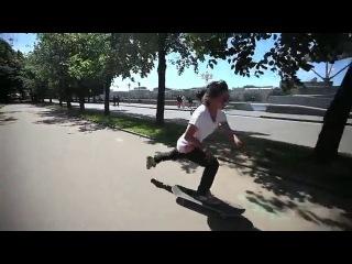 Катя Шангелия! Скейт день!